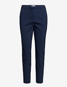VIADELIA RWSL 7/8 NEW PANT-NOOS - straight leg trousers - navy blazer