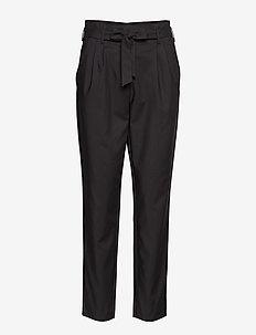 VISOFINA HWRE 7/8 PANT-NOOS - leveälahkeiset housut - black