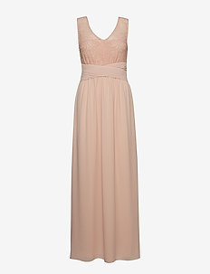 VITALIMA S/L MAXI DRESS/DC - ROSE SMOKE