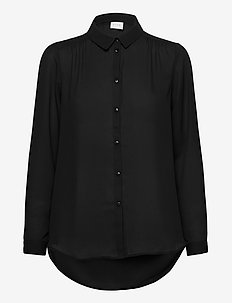 VILUCY BUTTON L/S SHIRT - NOOS - långärmade skjortor - black
