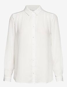 VILUCY L/S BUTTON SHIRT - NOOS - chemises à manches longues - snow white