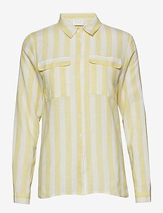VIDAMITA L/S SHIRT PB/KI - chemises à manches longues - goldfinch