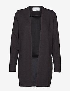 VISAVIA L/S COATIGAN - NOOS - cardigans - black