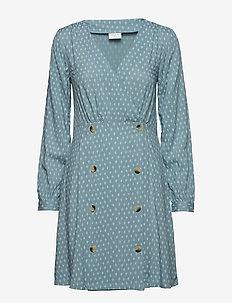 VIDIAM L/S DRESS - short dresses - citadel