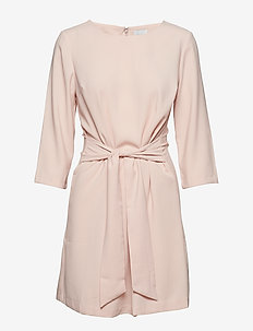 VINATHALIA TIE BAND DRESS - ROSE SMOKE