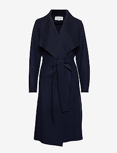 VIBALIS LONG JACKET/KI - NAVY BLAZER
