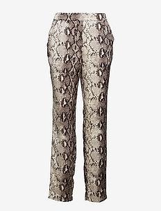 VIPINJA PANTS /RX - straight leg trousers - cloud dancer