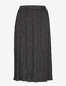 VIGLITTOS MIDI SKIRT - midi skirts - black