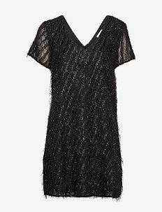VILOCO S/S DRESS - BLACK