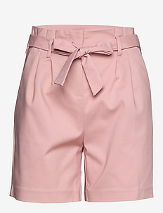 VISOFINA HWRE SHORTS - paper bag shorts - pale mauve