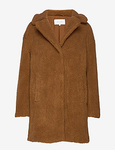 VIPLYS TEDDY COAT/AS - OAK BROWN