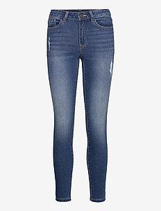 VIEKKO RWSK 7/8 JEANS/SU - NOOS - skinny jeans - medium blue denim