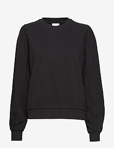 VITEAL L/S SWEAT - BLACK