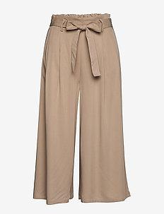 VIVERO HWRX CROPPED PANTS/SU - wide leg trousers - nomad