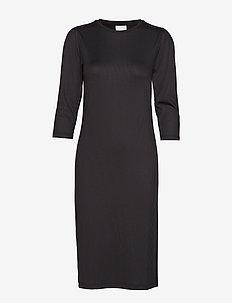 VISOFJA DRESS /KA - midi dresses - black