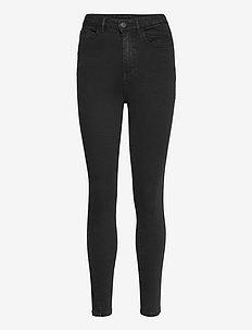 VIEKKO HWSK 7/8 JEANS/SU - NOOS - slim jeans - black