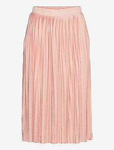 VIPLISS MIDI SKIRT - midinederdele - misty rose