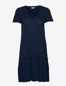 VIPLISS S/S DRESS - do kolan & midi sukienki - navy blazer