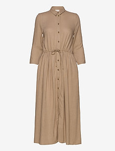 VISAFARI MIDI 3/4 DRESS - shirt dresses - nomad