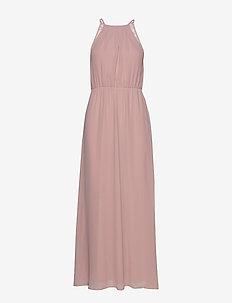 VIMICADA  S/L ANCLE DRESS/DC/SU - maxi dresses - pale mauve