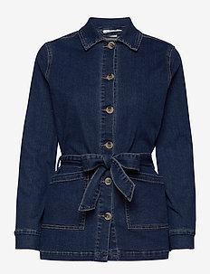 VIFASH DENIM JACKET - spijkerjassen - medium blue denim