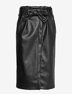 VIPULLA HW SKIRT - midi kjolar - black