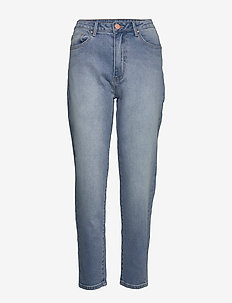 VISOMMER HWRE 7/8 MOM JEANS MBD - mammajeans - medium blue denim