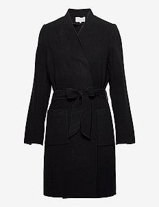VIAPPLE COAT/TB - light coats - black