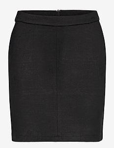 VIFADDY RW SKIRT - NOOS - pencil skirts - black