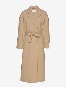 VICATE OVERSIZED L/S LONG COAT/L - trenchs - nomad