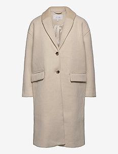 VICALLEE WOOL COAT/SU/DES - wool coats - birch