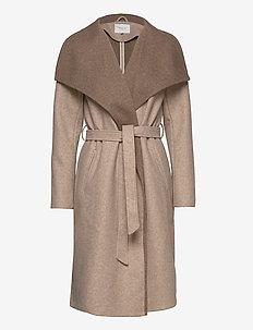 VIBIAS COAT/SU - wool coats - natural melange