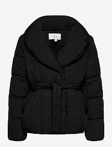 VIWANAS JACKET/SU - down- & padded jackets - black