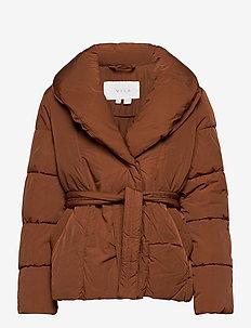 VIWANAS JACKET/SU - down- & padded jackets - tortoise shell