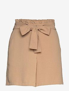 VIRASHA HW SHORTS/2 - paper bag shorts - nomad