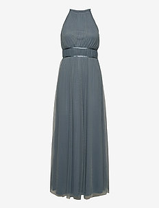 VILYNNEA HALTERNECK MAXI DRESS/SU - EV - maxi dresses - china blue