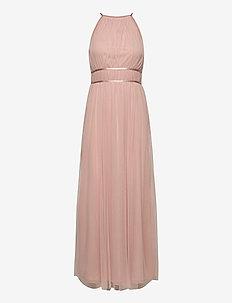 VILYNNEA HALTERNECK MAXI DRESS/SU - EV - maxi dresses - pale mauve