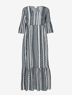 VIHANNAS 2/4 ANCLE DRESS - midiklänningar - snow white