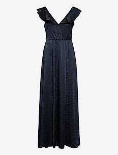 VIFLOATING FRILL MAXI DRESS/DC/SU - maxi dresses - navy blazer