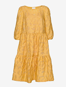 VIJAGA 3/4 DRESS /RX - GOLDEN OAK