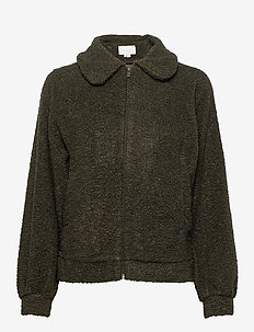 VIPIP BLOUSON/DES - wool jackets - forest night