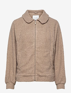 VIPIP BLOUSON/DES - wool jackets - simply taupe