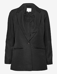 VIBRENDY L/S BLAZER/SU - oversized blazers - black