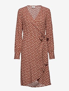 VIVISCO L/S DRESS /RX - COPPER BROWN