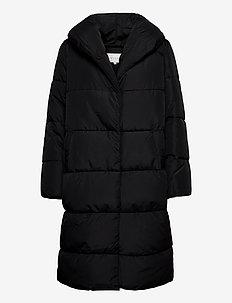 VIOLANA PUFF LONG JACKET/L - padded coats - black