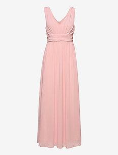 VIMILINA LONG DRESS/SU - NOOS - maxi dresses - pale mauve