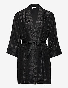 VIABIES 3/4 COVER UP - kimonos - black