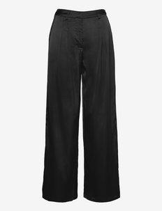 VIDAYE HWRX WIDE PANTS/SU - pantalons larges - black