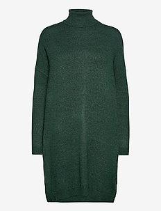 VIRIL ROLLNECK L/S KNIT TUNIC - NOOS - stickade klänningar - pine grove