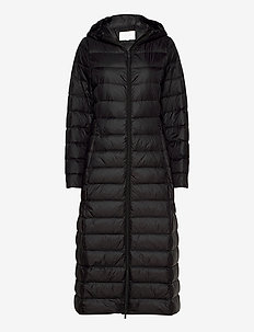 VIMANYA NEW LONG LIGHT DOWN JACKET -NOOS - gewatteerde jassen - black